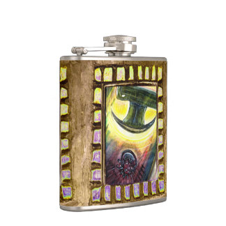 Conquest Over Evil Hip Flask