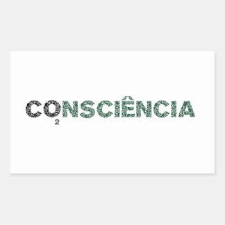 Conscience Rectangular Sticker