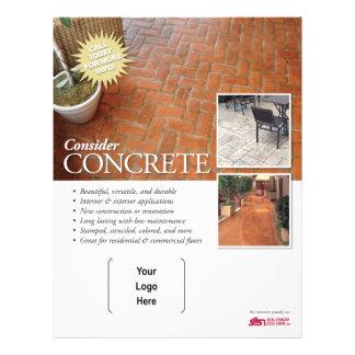 Consider Concrete Flyer for Solomon Contractors