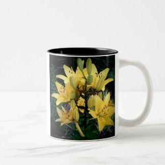 Consider The Lillies Two-Tone Coffee Mug