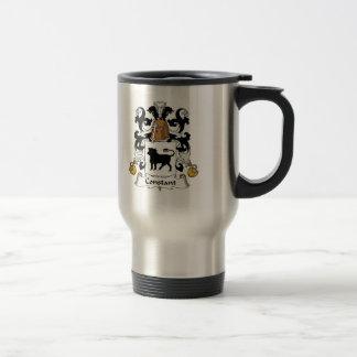 Constant Family Crest Stainless Steel Travel Mug