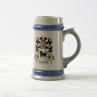 Constant Family Crest Beer Steins
