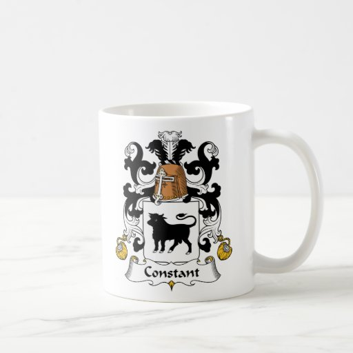 Constant Family Crest Coffee Mugs