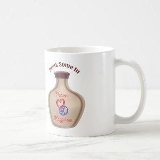 Constant happiness reminder basic white mug