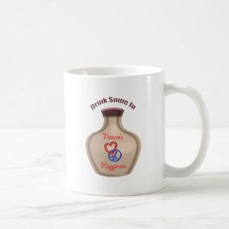Constant happiness reminder coffee mug