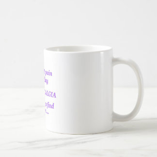 constant pain everyday coffee mug