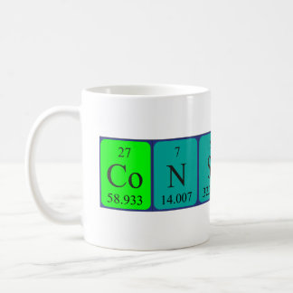 Constant periodic table name mug