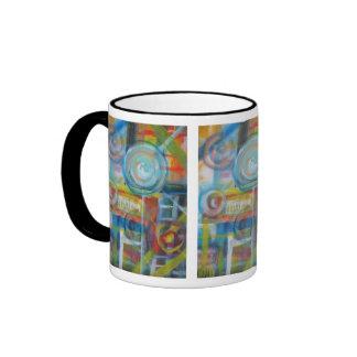 Constant Velocity 10 Ringer Coffee Mug