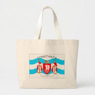 Constanta_Flag.svg Large Tote Bag