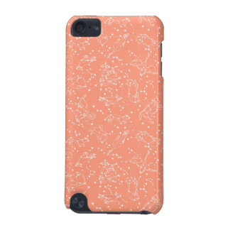 Constellations Zodiac / Peach/Blush /Andrea Lauren iPod Touch (5th Generation) Case