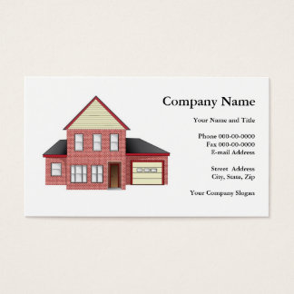 Construction Builder Business Card