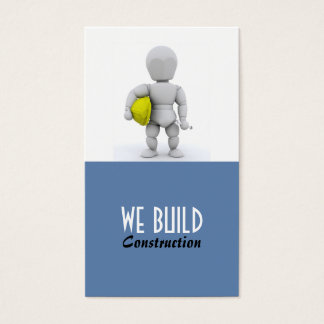 Construction / Builders Business Card