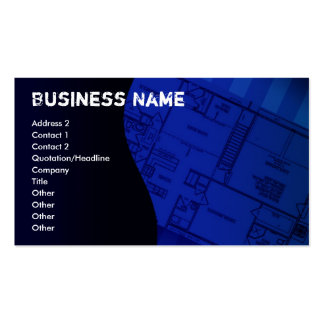 construction-business-card1, Business Name, Add... Pack Of Standard Business Cards