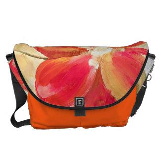 Construction Red Orange Bag Messenger Bags