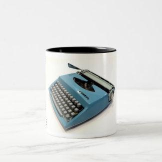 Consul 231.3 typewriter Two-Tone coffee mug