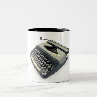 Consul 232.4 typewriter Two-Tone coffee mug