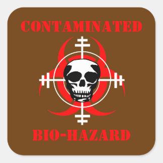 Contaminated Bio-Hazard Sticker  (ver. 2)