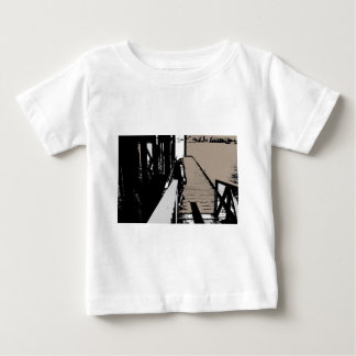 Contemplating Life Baby T-Shirt