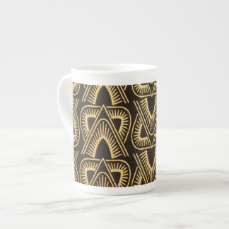 Contemporary: African Style Design Tea Cup