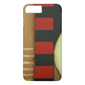 Contemporary Loft Style Paneled Painting iPhone 8 Plus/7 Plus Case