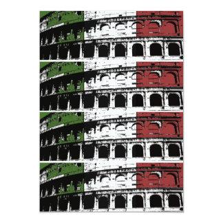 Contemporary Roman Coliseum 2x6 Custom Labels Card