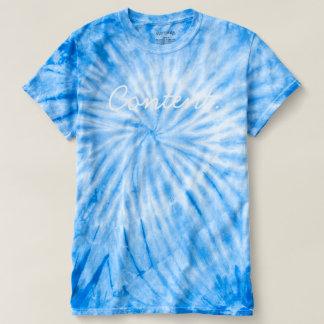 'Content' Tie Dye T Shirt