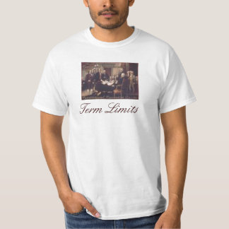 Continental Congress, Term Limits T-Shirt