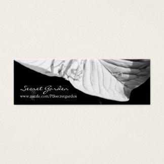 Conversation (1) - Floral Photography Mini Business Card