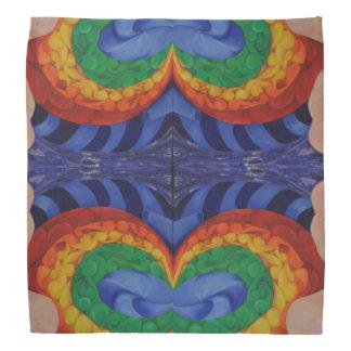 Conversation art design bandanna