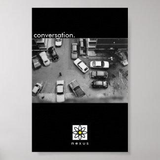 Conversation. Poster