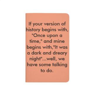 Conversation Starter Notebook Journal