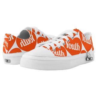 Conversational Patterned Love For Youth Low Tops