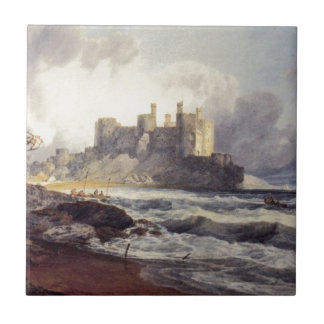 Conway Castle by William Turner Tile