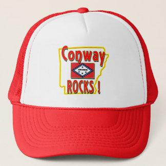 Conway Rocks ! (red) Trucker Hat