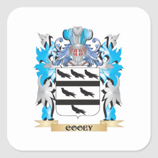 Cooey Coat of Arms - Family Crest Stickers