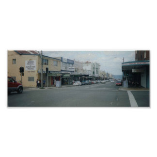 Coogee Bay Road, Australia Poster