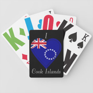 Cook Islands flag Bicycle Playing Cards