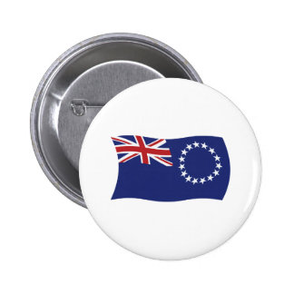 Cook Islands Flag Button