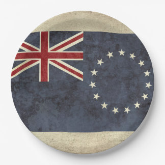 Cook Islands Flag Paper Plates