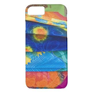 Cook Islands, Rarotonga. Batik cloth Punanga Nui iPhone 8/7 Case
