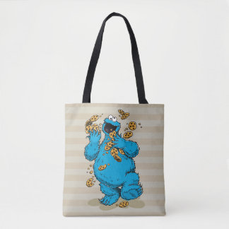 Cookie Monster Crazy Cookies Tote Bag
