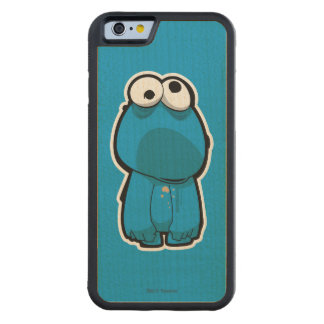 Cookie Monster Zombie Maple iPhone 6 Bumper Case