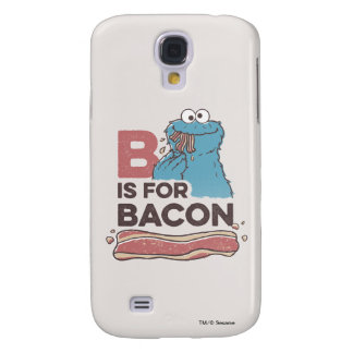 Cookie MonsterB is for Bacon Galaxy S4 Case