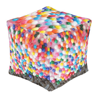 Cookie Sprinkles Pouf
