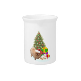 Cookies for Santa Claus Pitcher