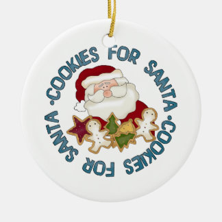Cookies for Santa ornament