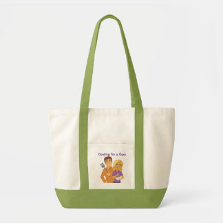 Cooking for a Cure tote Impulse Tote Bag
