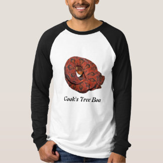 Cook's Tree Boa Basic Long Sleeve Raglan T-Shirt