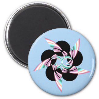 cool 6 cm round magnet