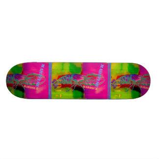 Cool Abstract Design Skateboard Deck